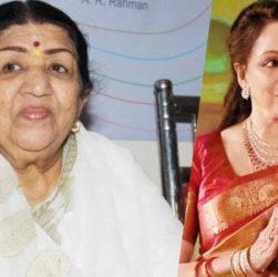 लता मंगेशकर hema malini tweets to pray for Lata Mageskar